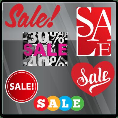 Sale Sticker - Algemeen