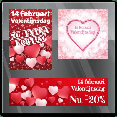 Valentijn sticker